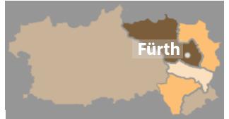 Karte Dekanat Fürth